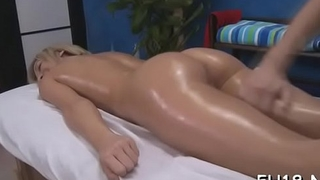 Charming fucked hard by her masseur