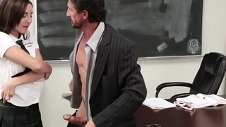 Teen nailed by teacher