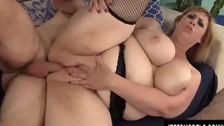 Blonde Plumper Amazon Darjeeling Is Fucked Here There and Everwhere