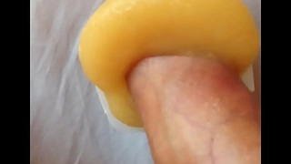Cumming on applesauce