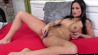 Masturbation and toy play makes EXPLOSIVE orgasm
