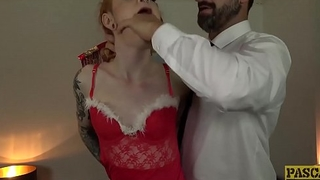 PASCALSSUBSLUTS - Azura Alii facialized after anal holiday