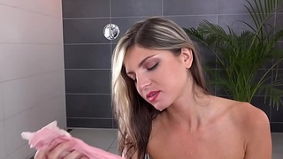 Peeing her pants makes Gina Gerson horny