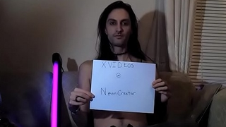 Verification video NeonCreator style