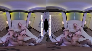7 GIRL ORGY from NAUGHTY AMERICA VR ringing in 2019