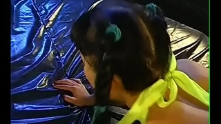 Getting their enchanting faces spewed with jizzum delight sweethearts